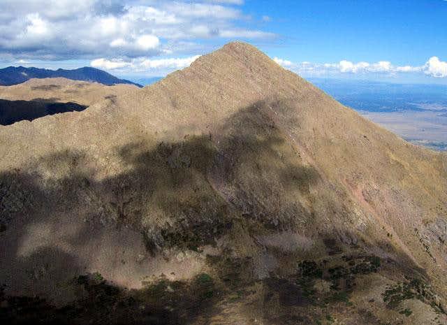 Horn Peak seem from the...