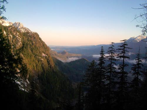 From the Lake Serene Trail