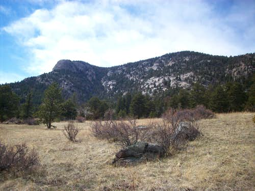 Sheep Mountain from Cow Creek
