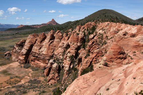 Red Butte and Spendlove Knoll