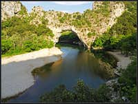 Pont d\'Arc on Ardeche