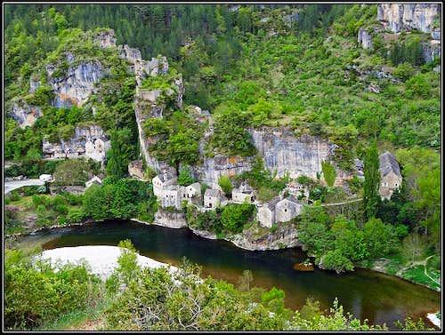 Castelbouc in Tarn canyon