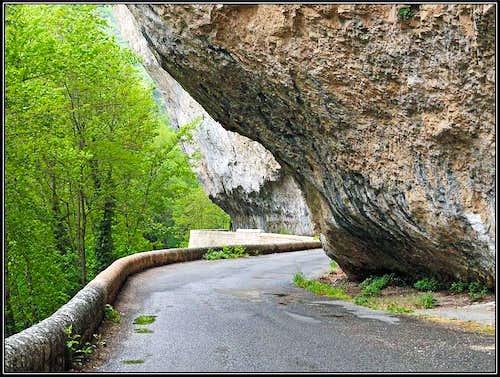 In Tarn canyon