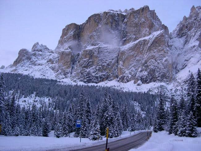 Sella Group from the road to...