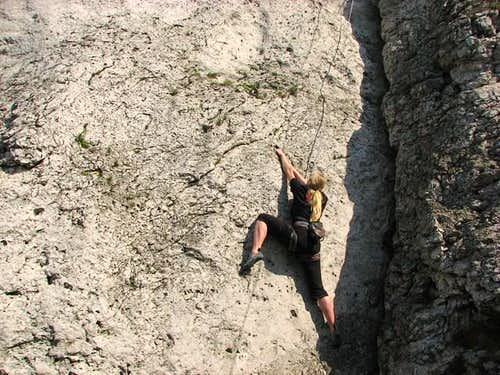 Iwona during warm up, VI ('ucieczka')