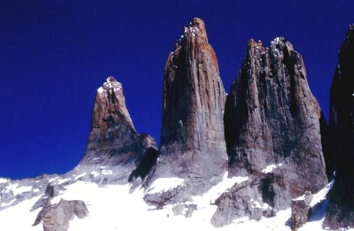 Torres del Paine East Faces