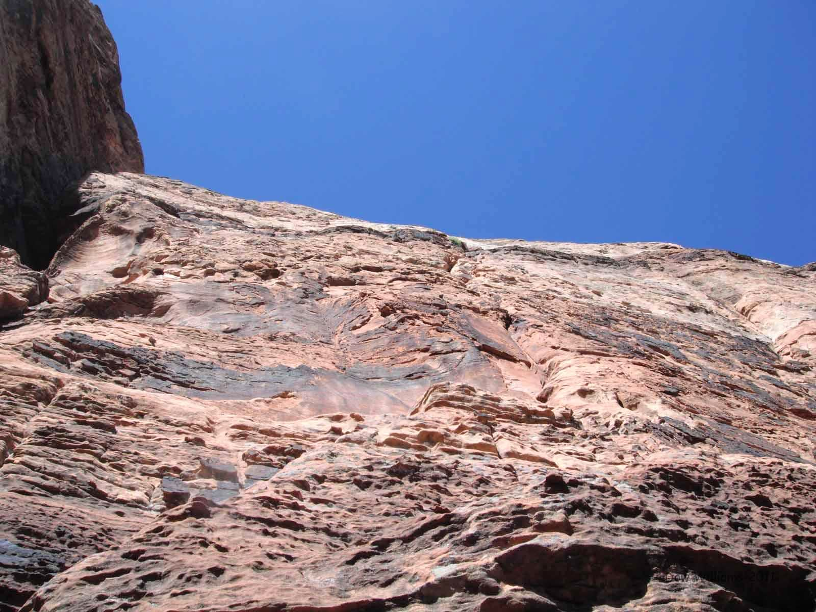 Immaculate Conception, 5.10+, 6 Pitches
