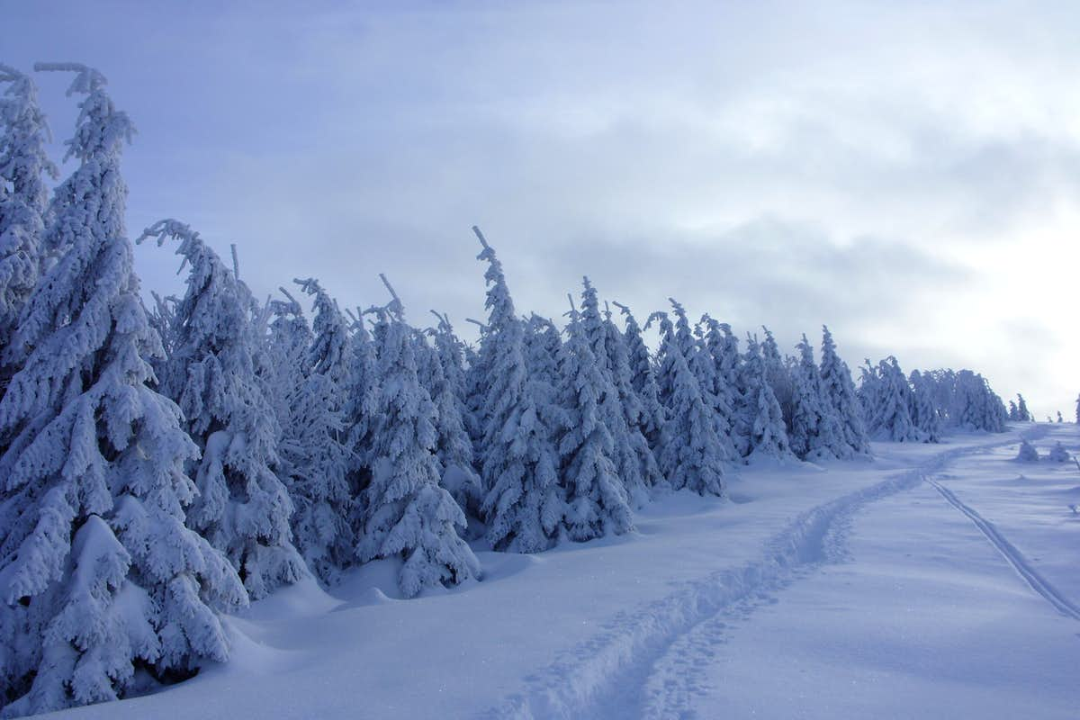 Brocken winter landscape photos diagrams topos for Landscape images