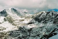 Grays Peak above Horseshoe...