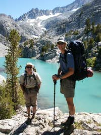 John & Charlie at Finger Lake...