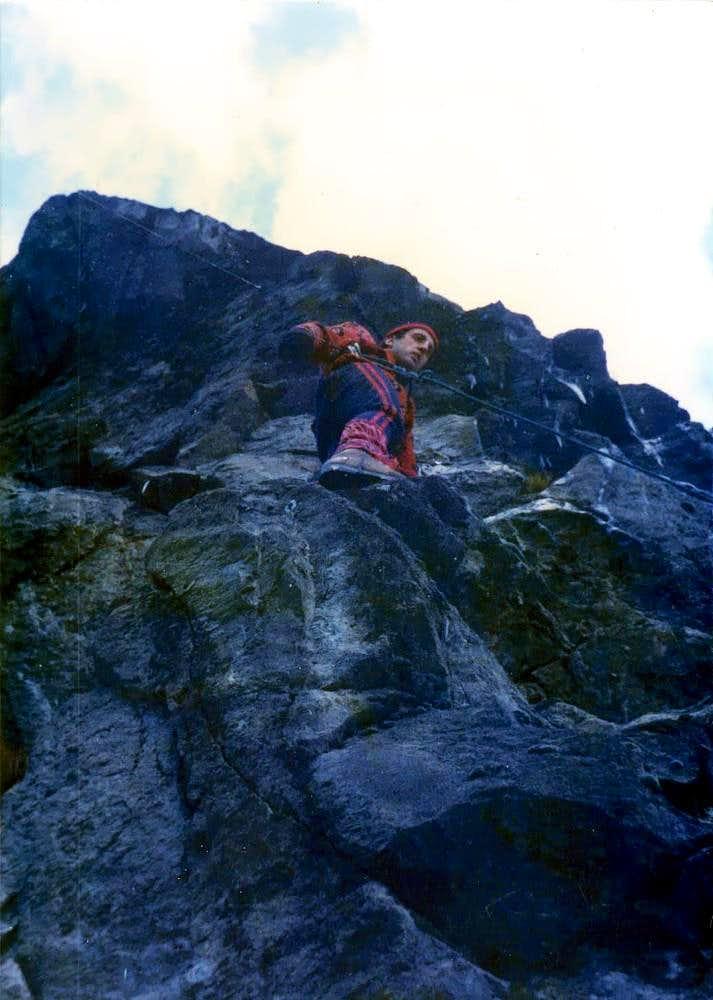 Total winter free climbing 1977?