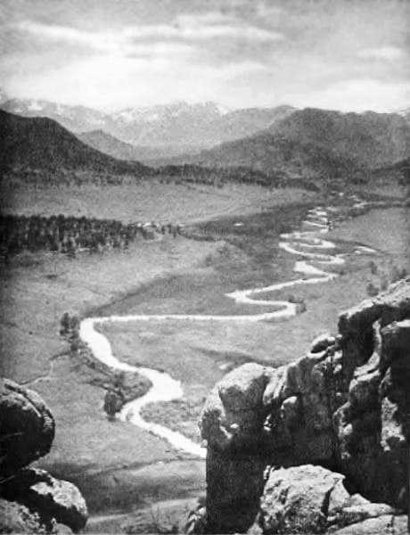 Estes Park Valley, circa 1909