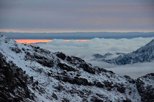 Early morning view from Toubkal Refuge