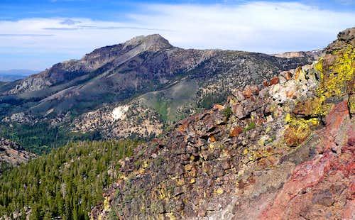 Silver Peak, 10,772'  from Ebbetts Ridge
