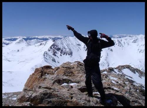 Me on the summit...