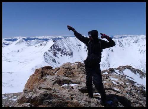 Me on the summit...