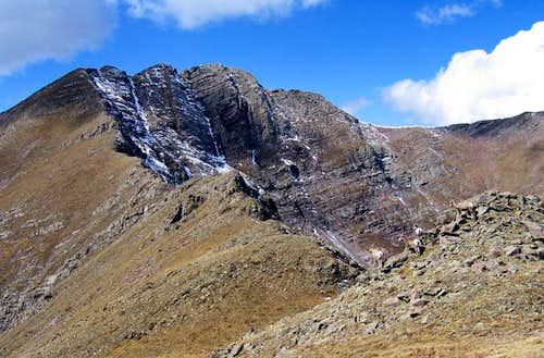 Fluted Peak & bighorns
