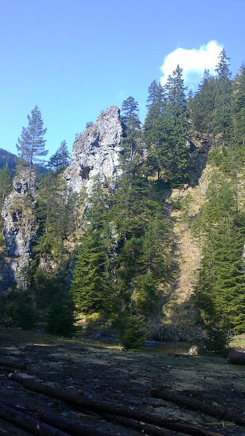 Rockies in Dolina Chocholowska.