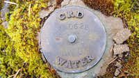 CRD Waterboard Benchmark on Mt Braden