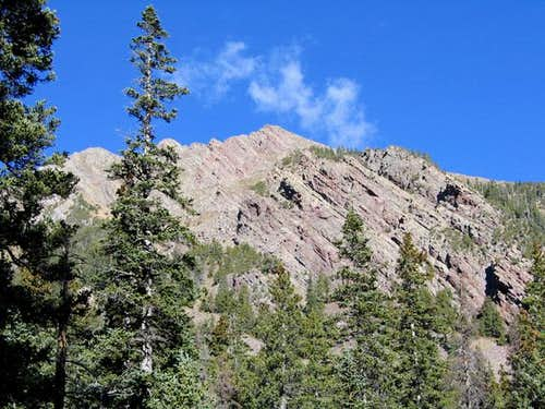 Little Horn Peak viewed from...