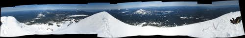 McLoughlin summit panorama