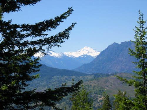 Looking toward Glacier Peak