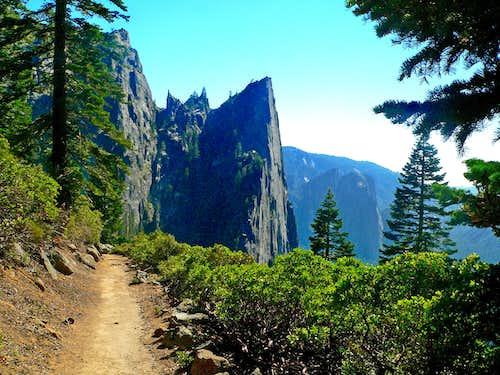 4 Mile Trail to Glacier Point, Yosemite