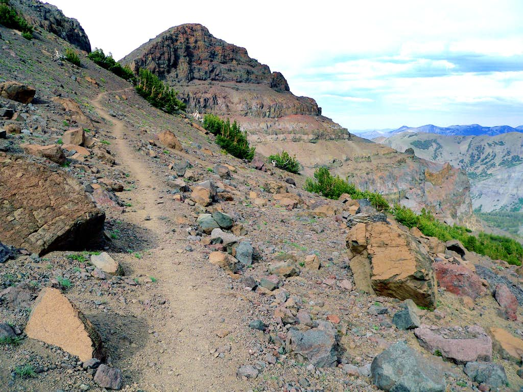 Unnamed pass, 10,800' Pacific Crest Trail