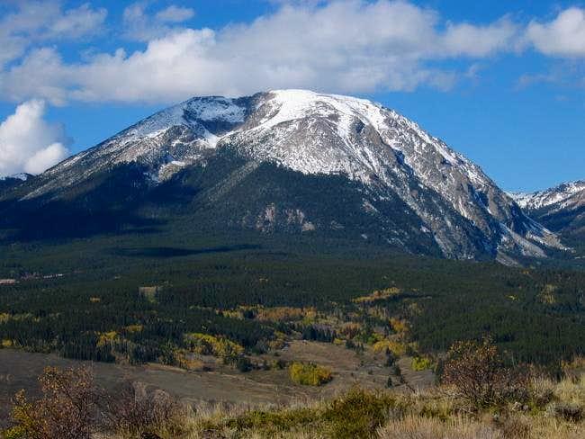 Buffalo Mountain from the...
