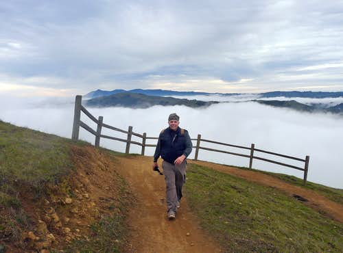 Big Rock Ridge in winter