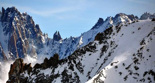 Views of Dru-Aiguille Verte