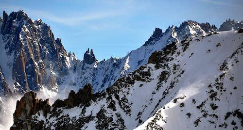 Views of Dru-Aiguille Verte