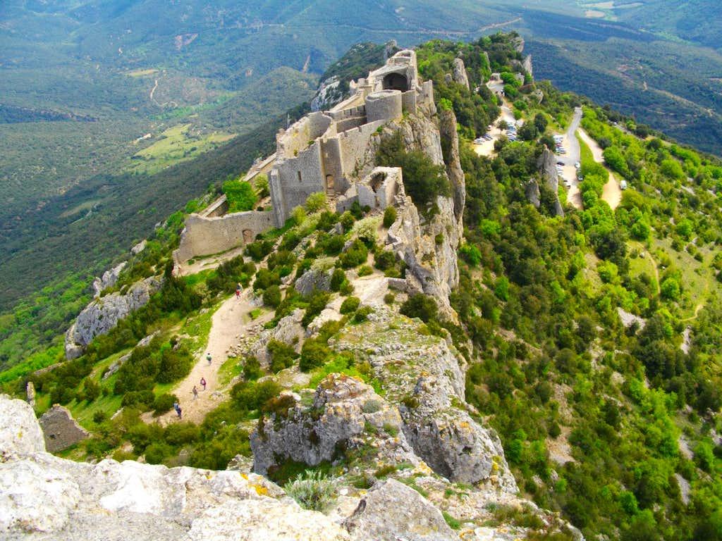 Peyrepertuse ruins (Corbières)