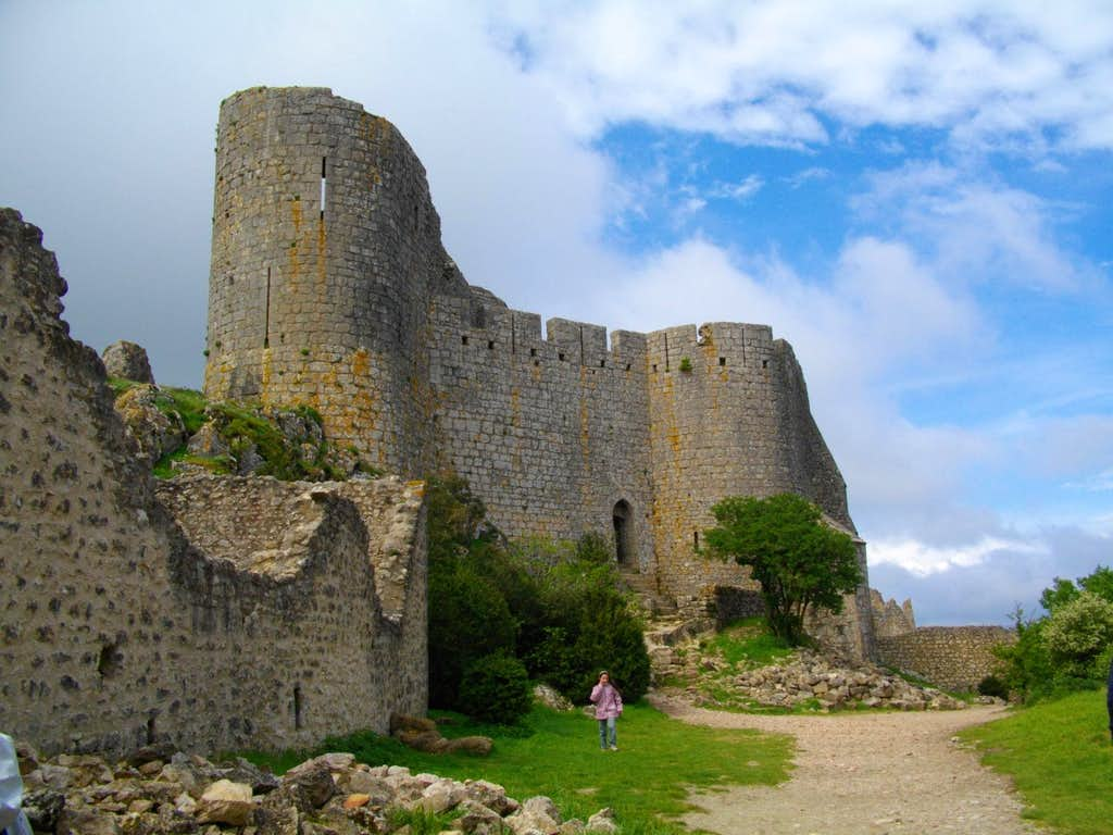 Aguilard ruins (Corbières)