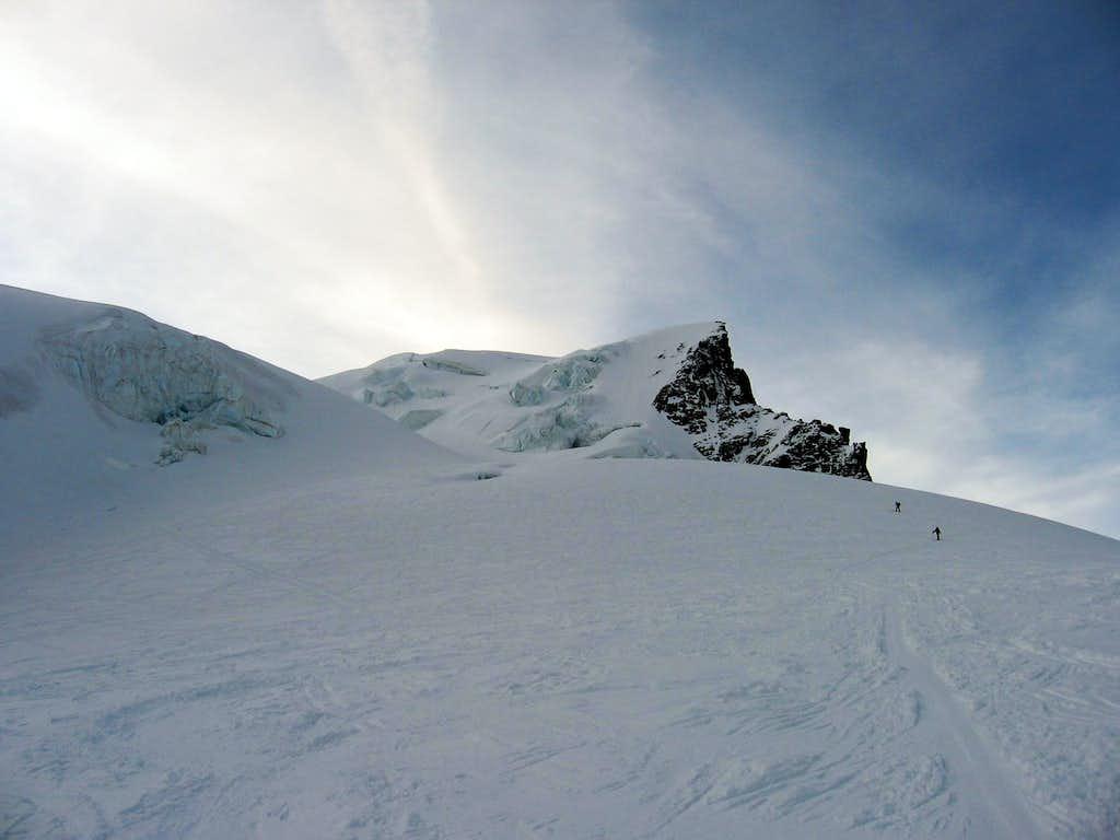 Along the ski route.