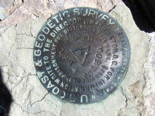 Mormon Peak Benchmark (NV)