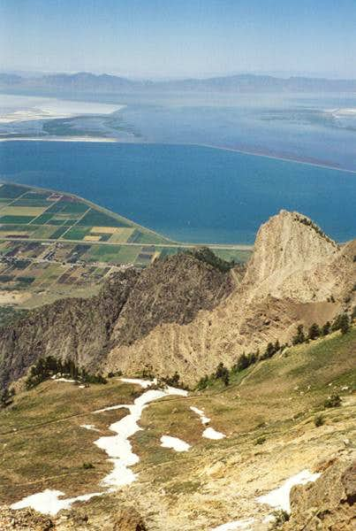 From Willard\'s summit looking...