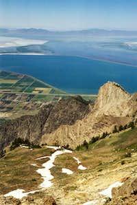 From Willard's summit looking...