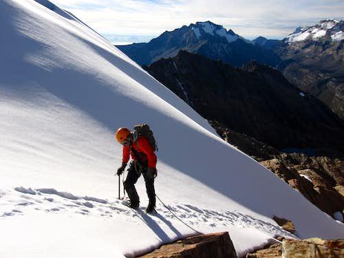 Aprox. to pico La Aguja