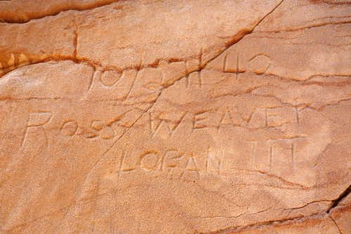 Etchings by Pioneer Climbers