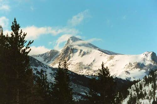 Mount Dana seen from near...