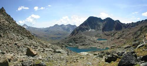 Panoramic view from Col di...