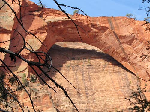 La Verkin Creek Trail to Kolob Arch