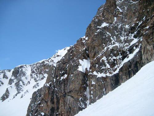 Edge of the East Face from Starbright