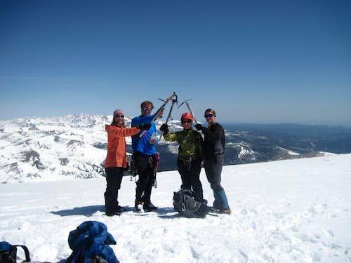 James Peak summit via Starbright
