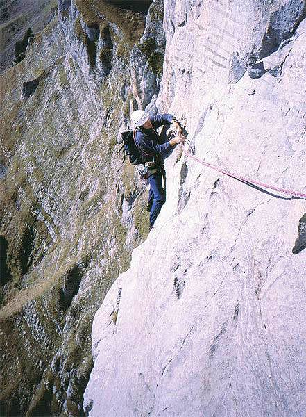 In a climbing route,...