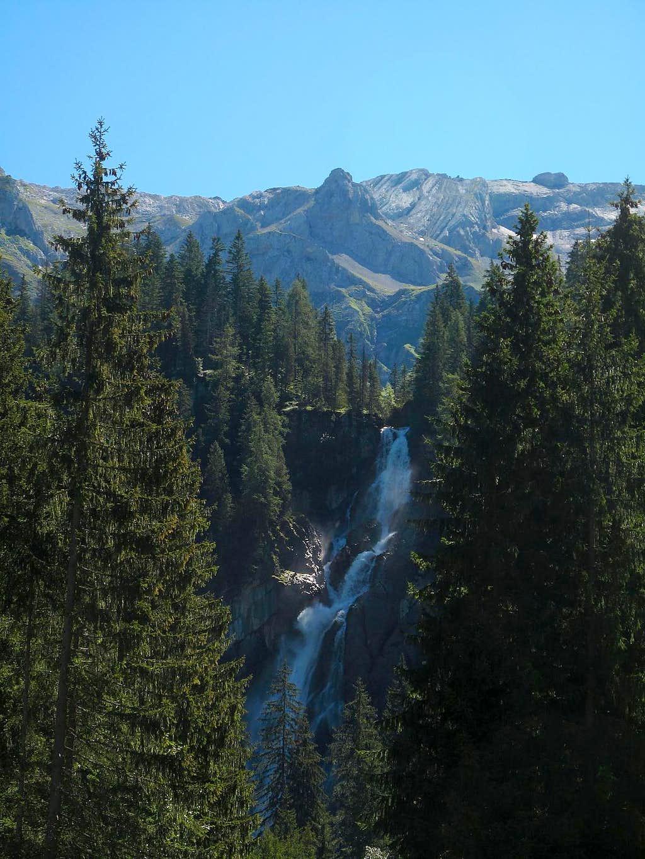 The Iffigenfälle waterfall