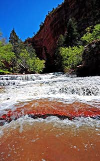 Zion NP - North Creek, Left Fork