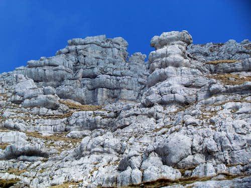 strange shapes of rocks