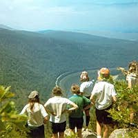 Worth the Sweat - Delaware Water Gap - circa 1970